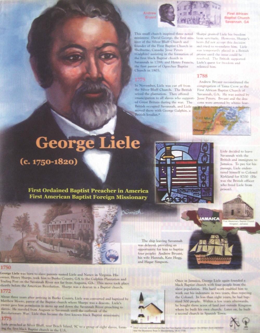George Liele Poster