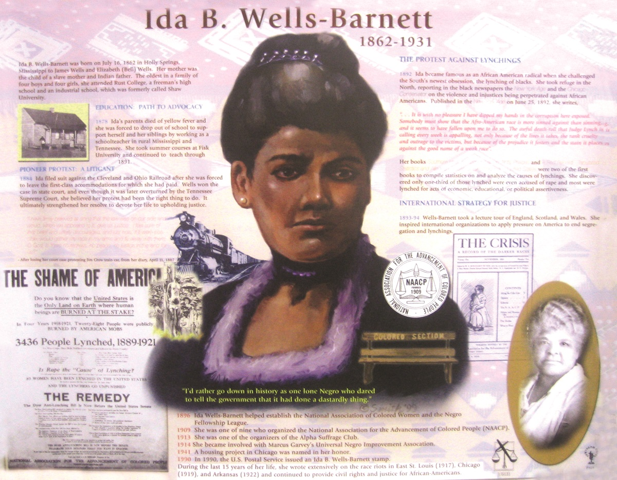 the early influences of ida wells barnett What forces compelled ida b wells- barnett  additional insight into the type of early educational influences which would ultimately shape so ida read the.