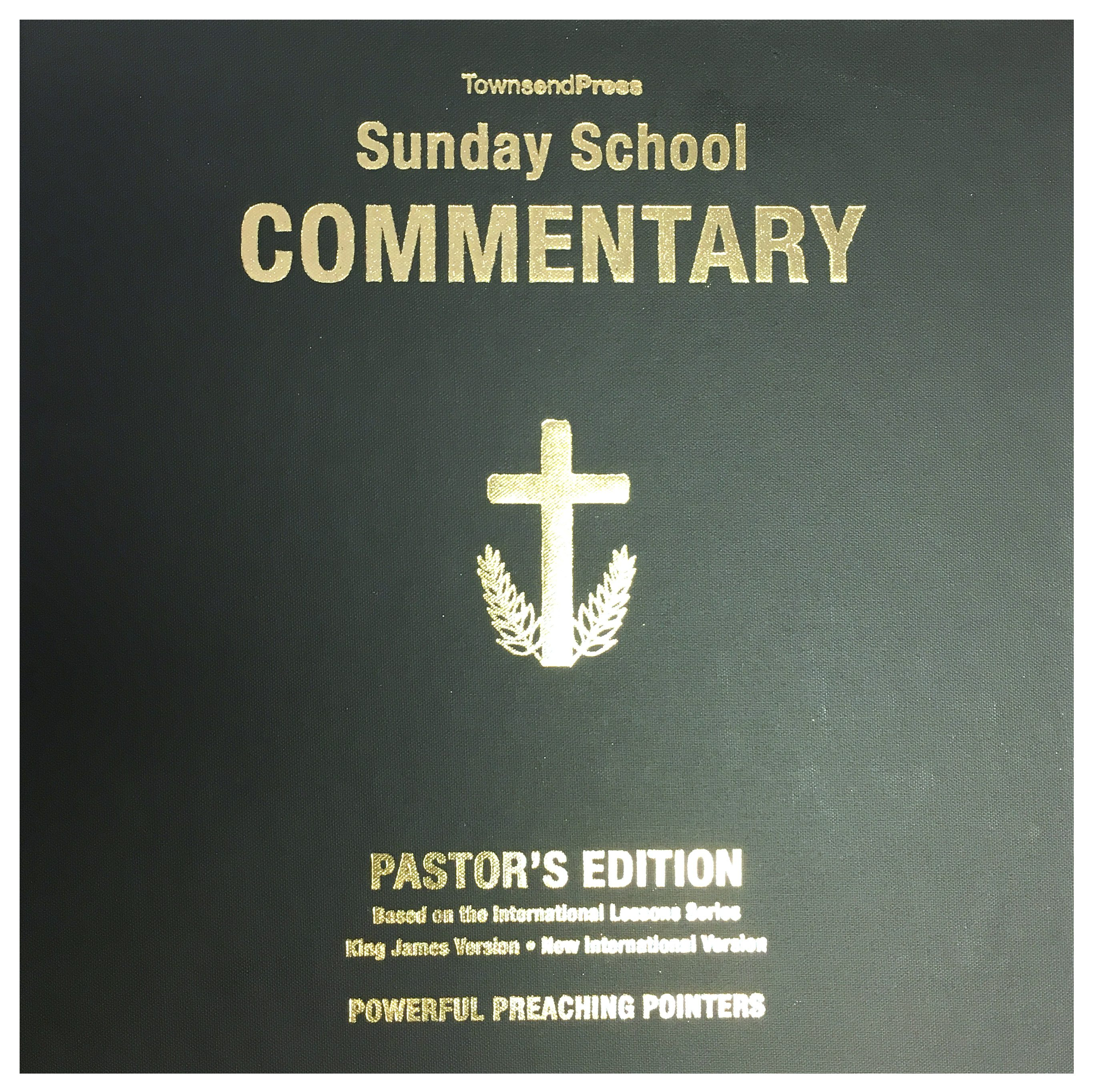 2016-2017 Townsend Press Sunday School Commentary Pastor's Edition
