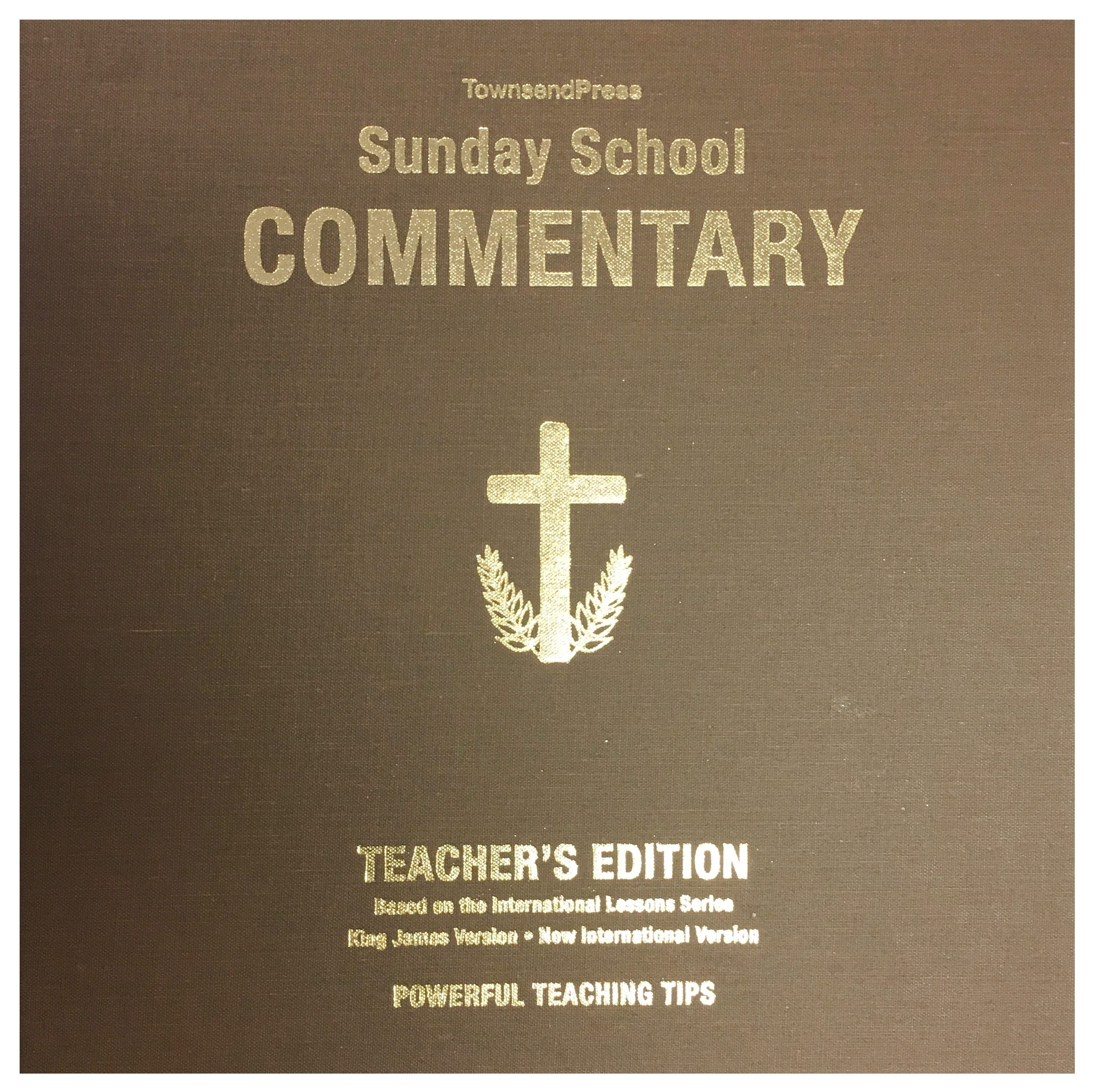 2016-2017 Townsend Press Sunday School Commentary Teacher's Edition