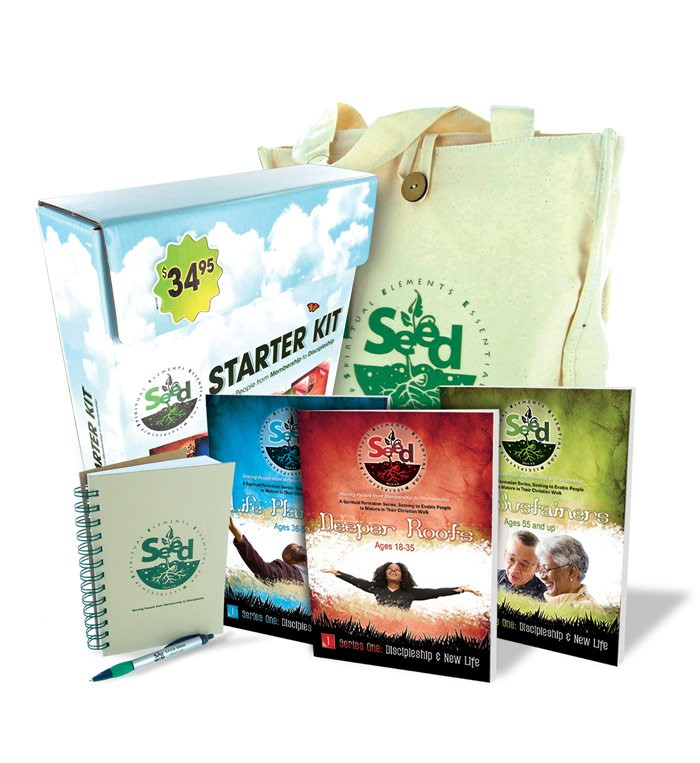 SEED: Spiritual Elements Essential for Discipleship Starter Kit