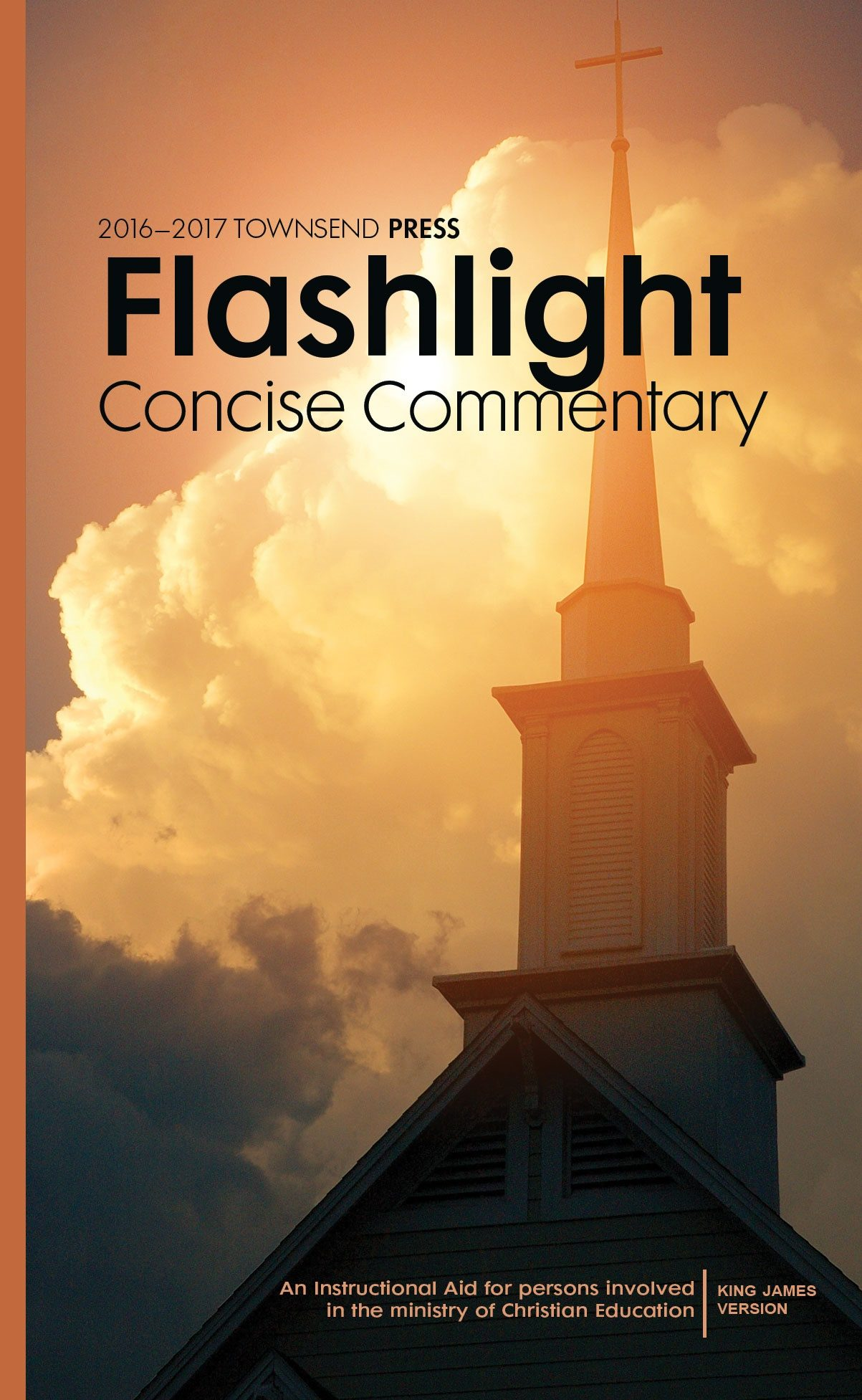 2016-2017 Townsend Press Sunday School Flashlight Concise Commentary