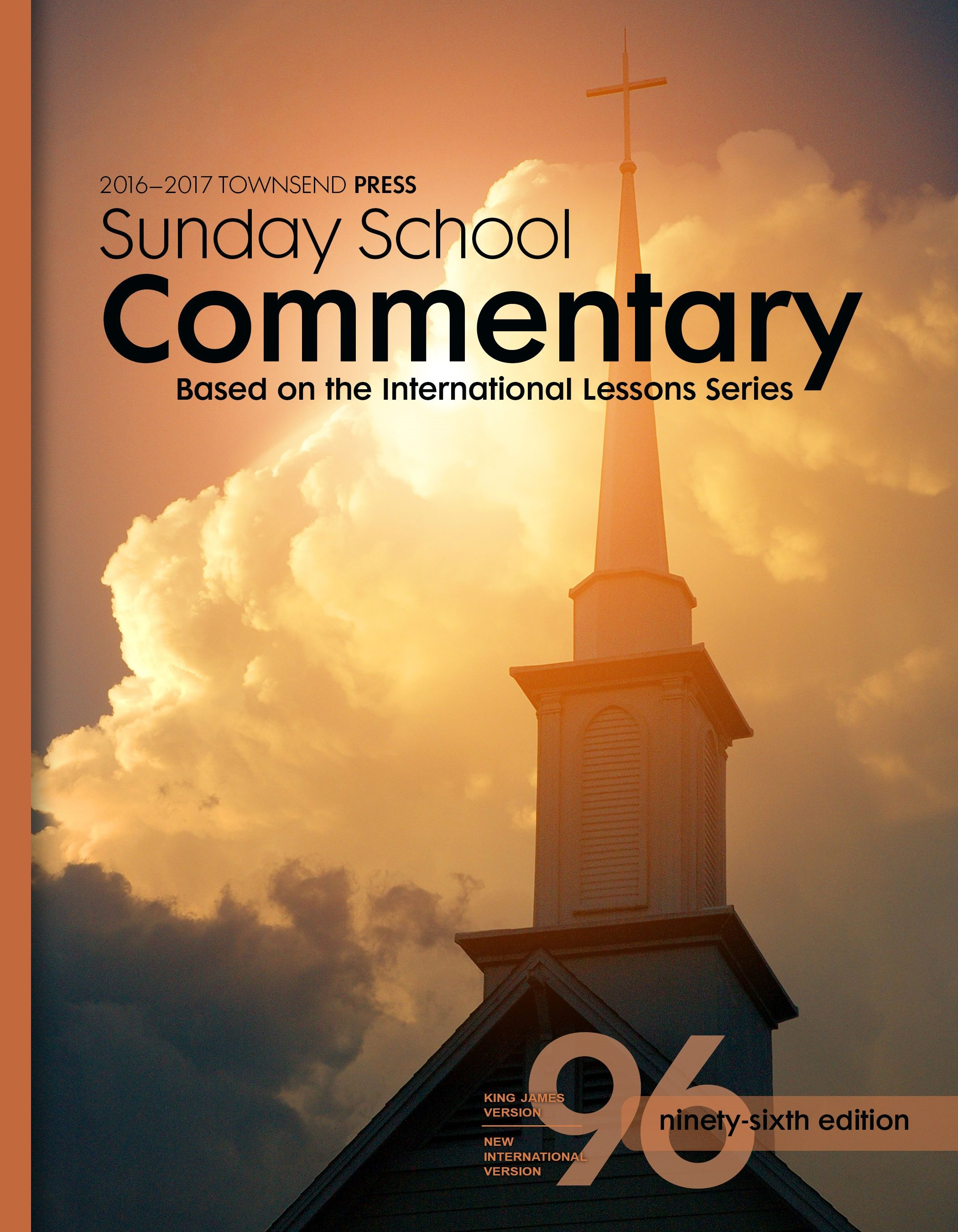2016-2017 Townsend Press Sunday School Commentary 96th Edition
