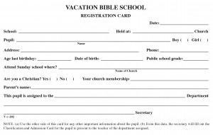 VBS Registration Card.indd
