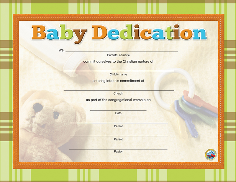 Free printable baby dedication certificate tiredriveeasy free printable baby dedication certificate yadclub Image collections