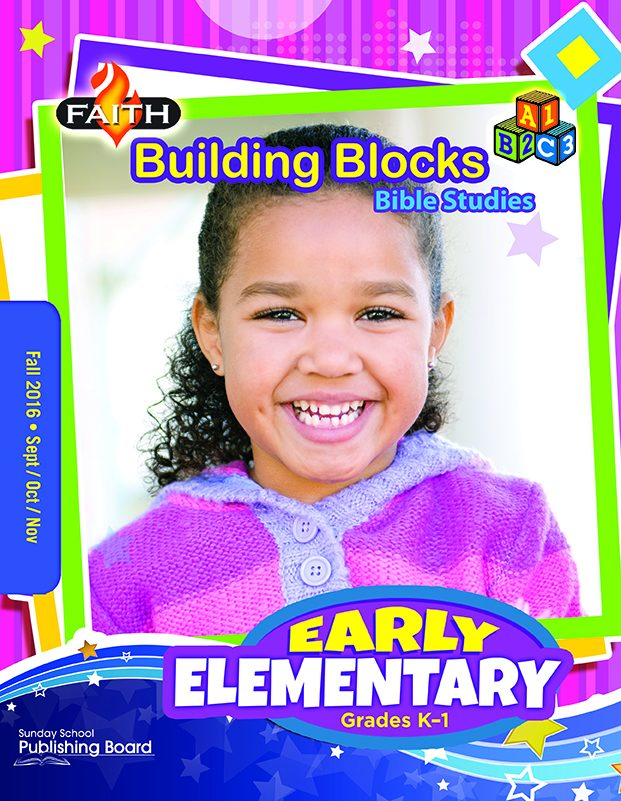 Faith Building Blocks Bible Studies for Early Elementary Students (Fall 2016)–Digital Edition