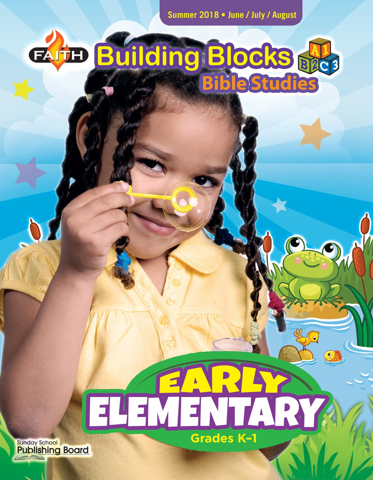 Faith Building Blocks Bible Studies, Early Elementary for Grades K-1 (Summer 2018)-Digital Edition