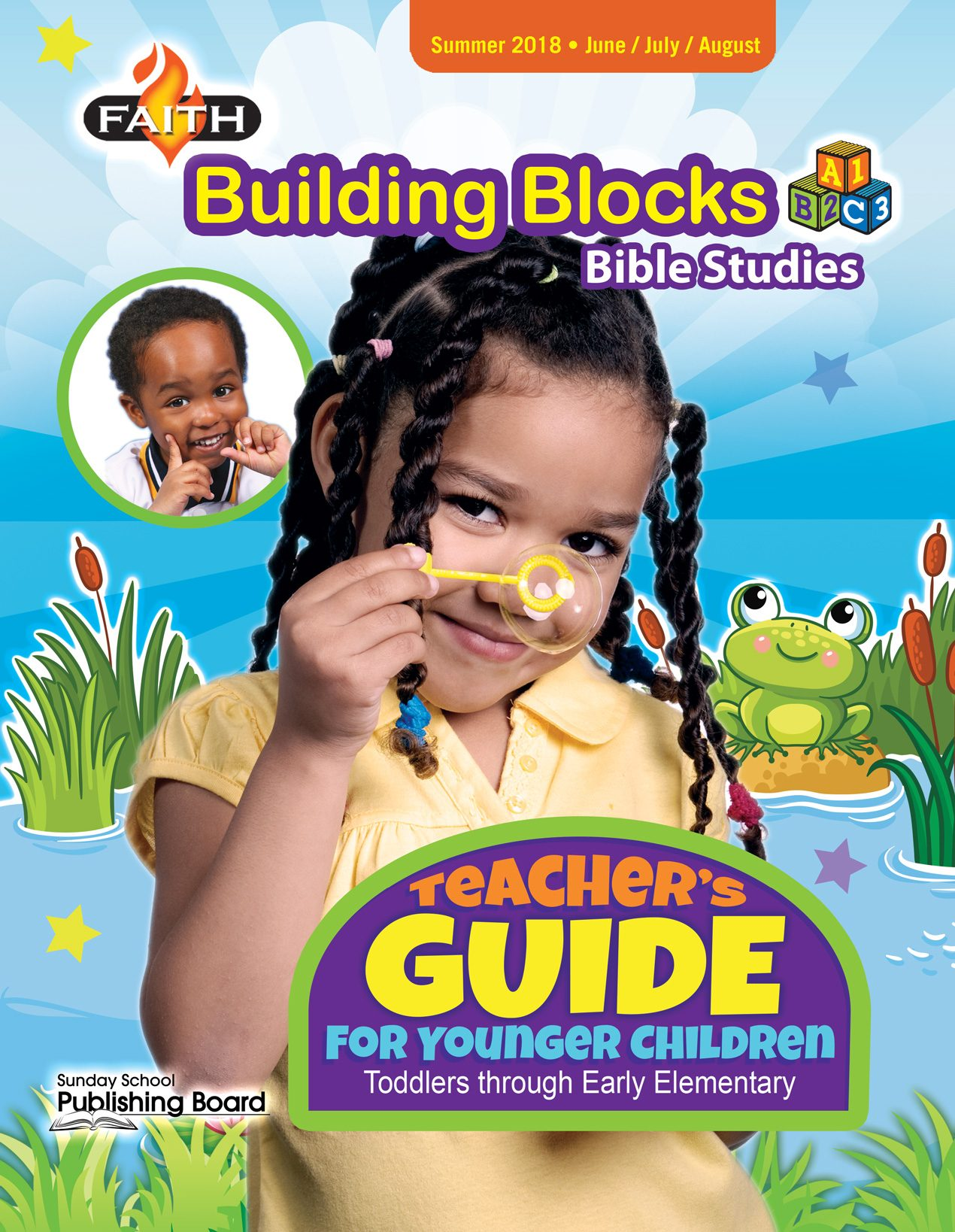 Faith Building Blocks Teacher's Guide for Toddlers to Grade 1 (Summer 2018)-Digital Edition