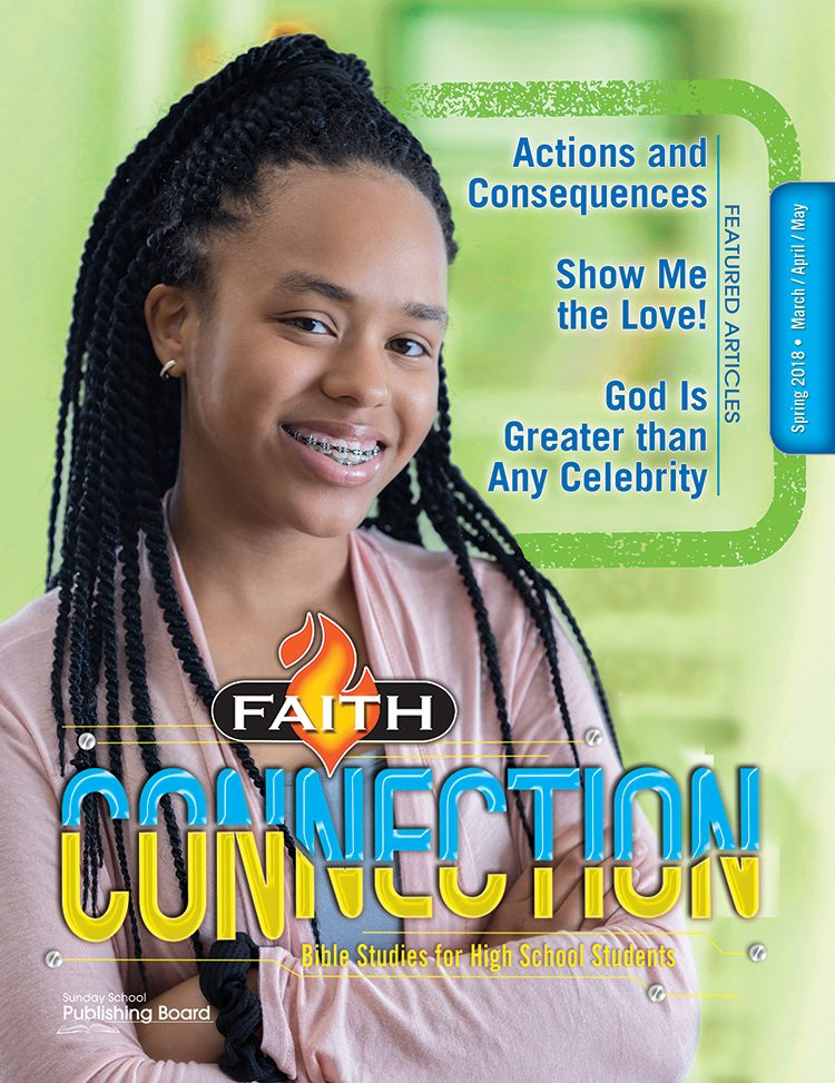Faith Connection Bible Studies for High School Students (Spring 2018)–Digital Edition