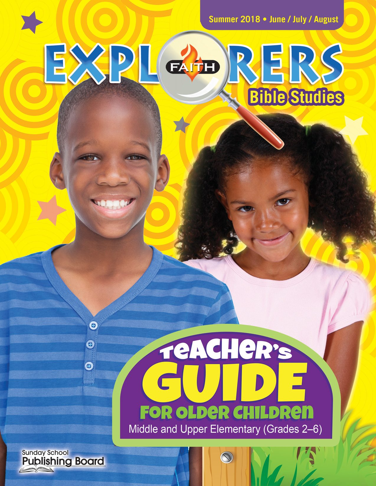 Faith Explorers Teacher's Guide for Grades 2-6 (Summer 2018)-Digital Edition