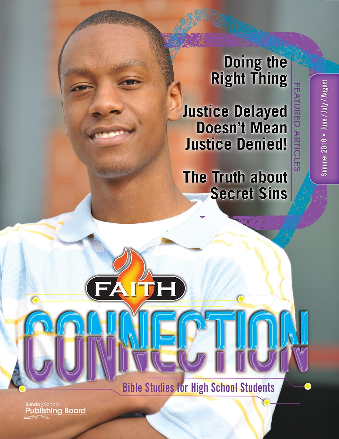 Faith Connection Bible Studies for High School Students (Summer 2018)–Digital Edition