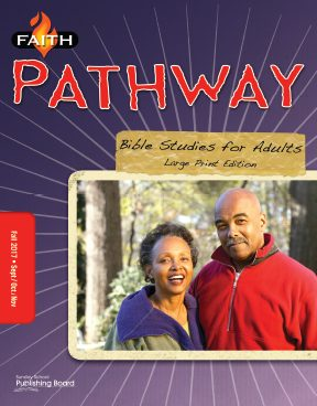 Faith Pathway - Bible Studies for Adults (Large Print)