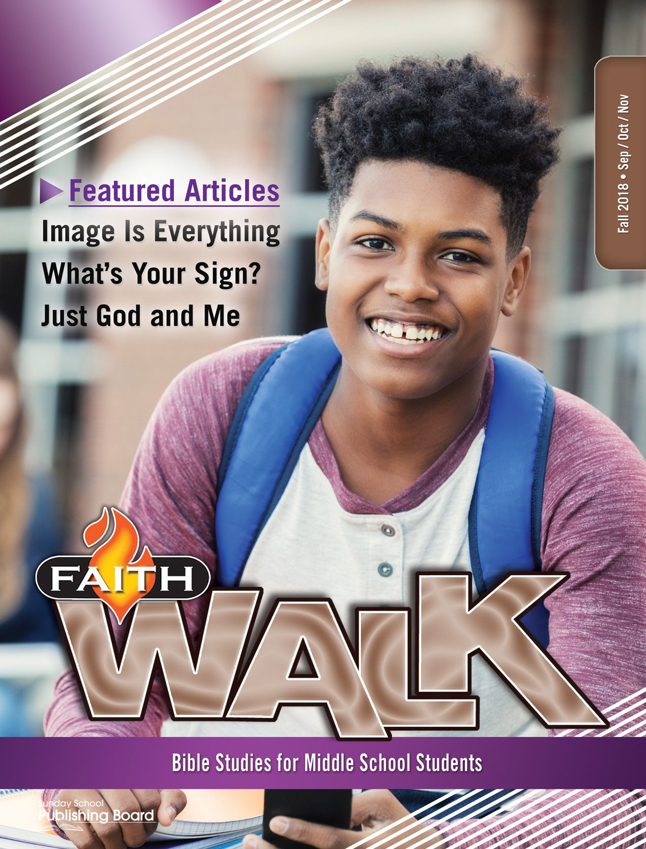 Faith Walk Bible Studies for Middle School Students (Fall 2018)–Digital Edition