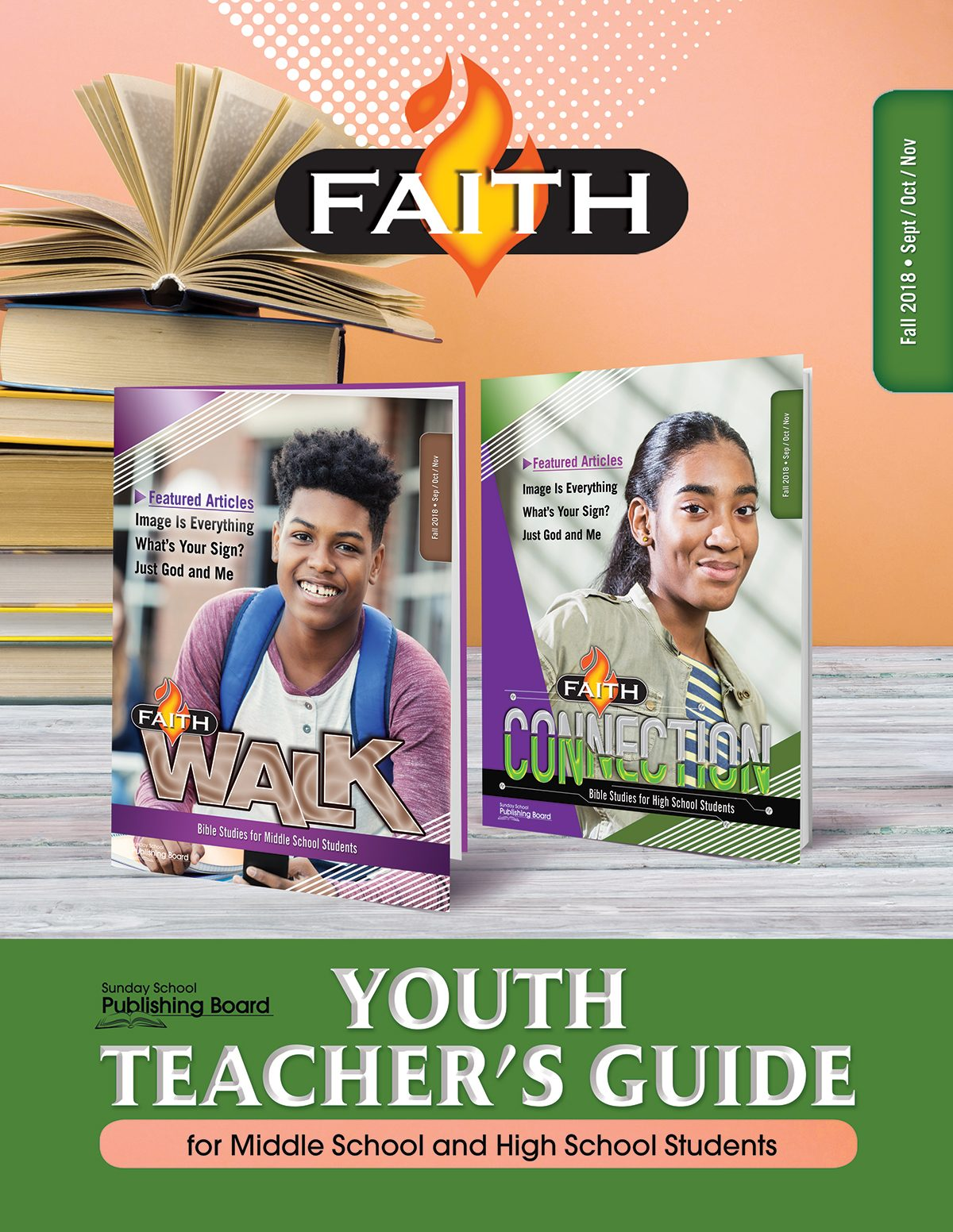 Faith Series Youth Teacher's Guide: For Middle School and High School Students (Fall 2018)–Digital Edition