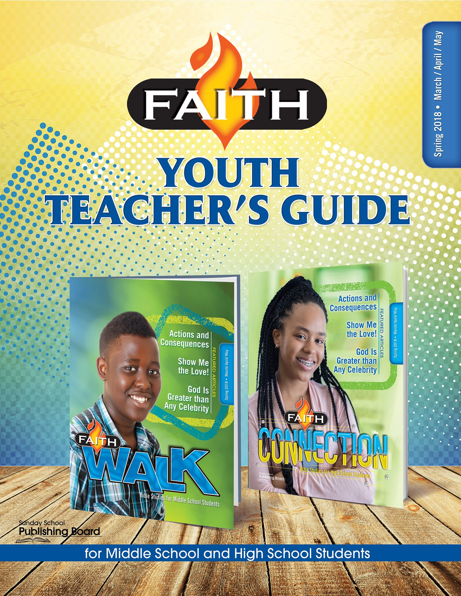 Faith Series Youth Teacher's Guide: For Middle School and High School Students (Spring 2018)–Digital Edition