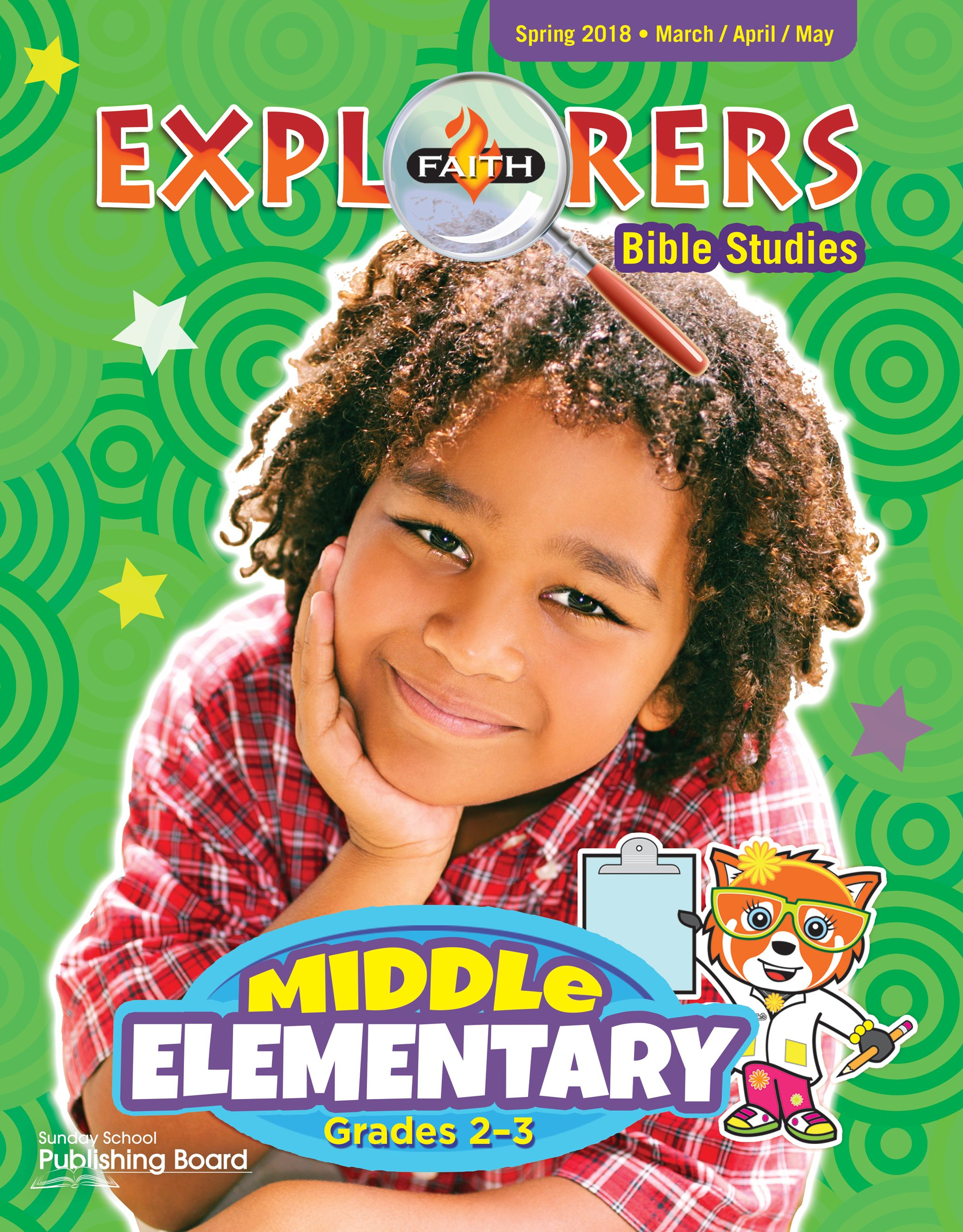 Faith Explorers Bible Studies, Middle Elementary for Grades 2-3 (Spring 2018)-Digital Edition