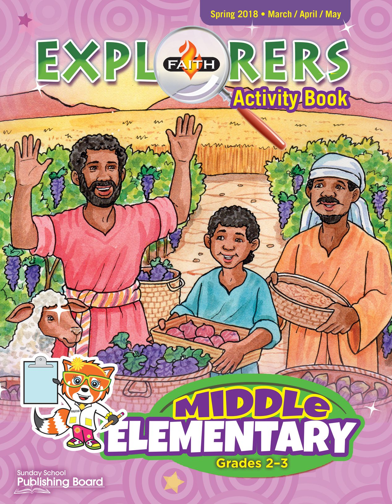 Faith Explorers Activity Book, Middle Elementary for Grades 2-3 (Spring 2018)-Digital Edition