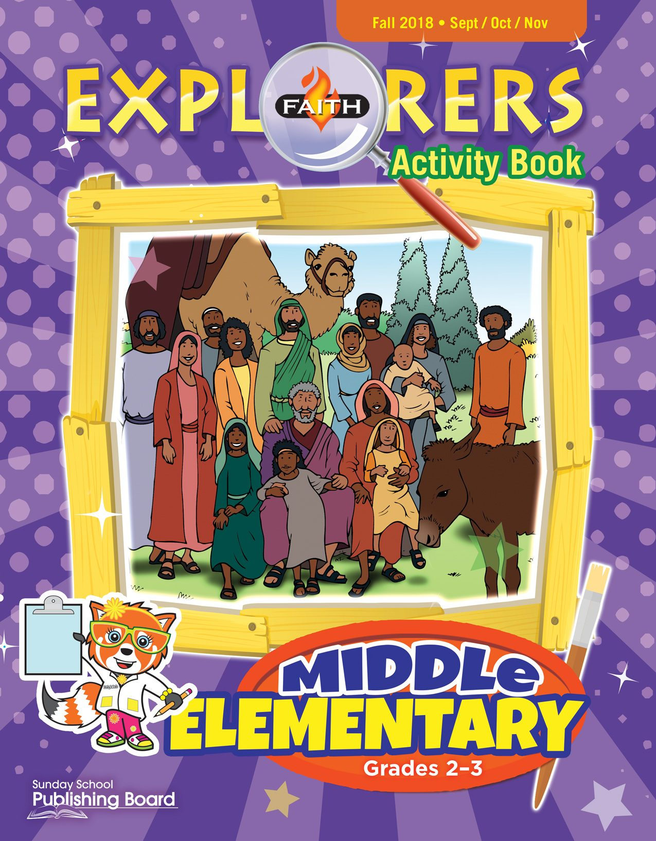 Faith Explorers Activity Book, Middle Elementary for Grades 2-3 (Fall 2018)-Digital Edition