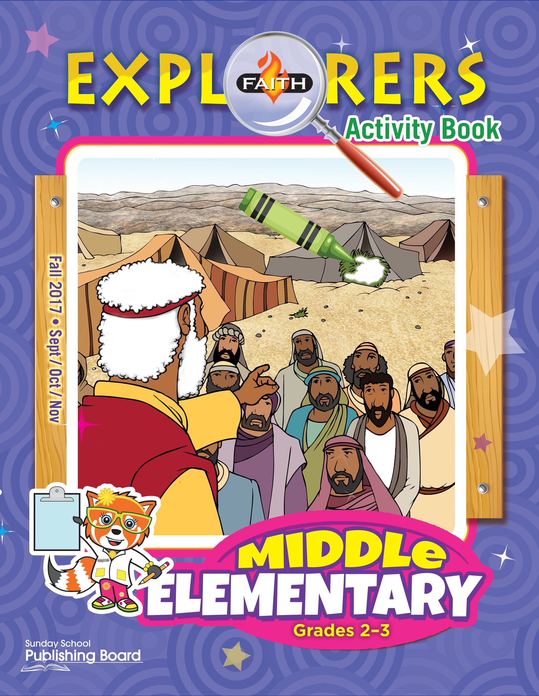 Faith Explorers Middle Elementary Activity Book (Grades 2-3)