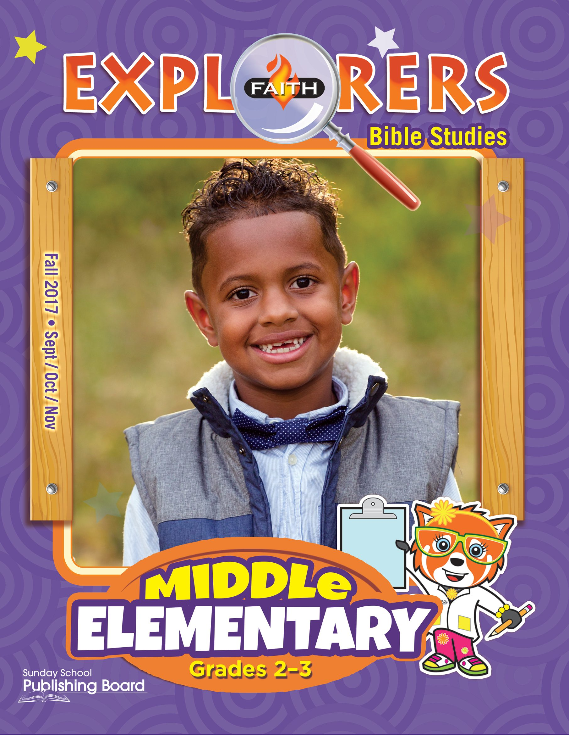 Faith Explorers Bible Studies, Middle Elementary for Grades 2-3 (Fall 2017)-Digital Edition