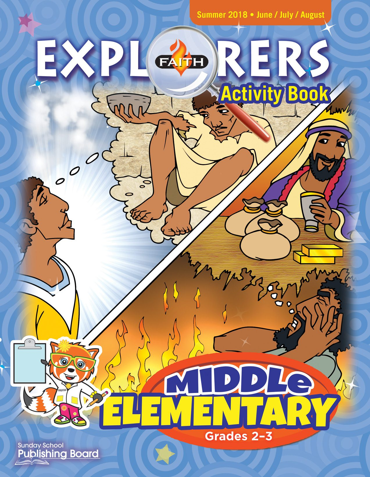 Faith Explorers Activity Book, Middle Elementary for Grades 2-3 (Summer 2018)-Digital Edition