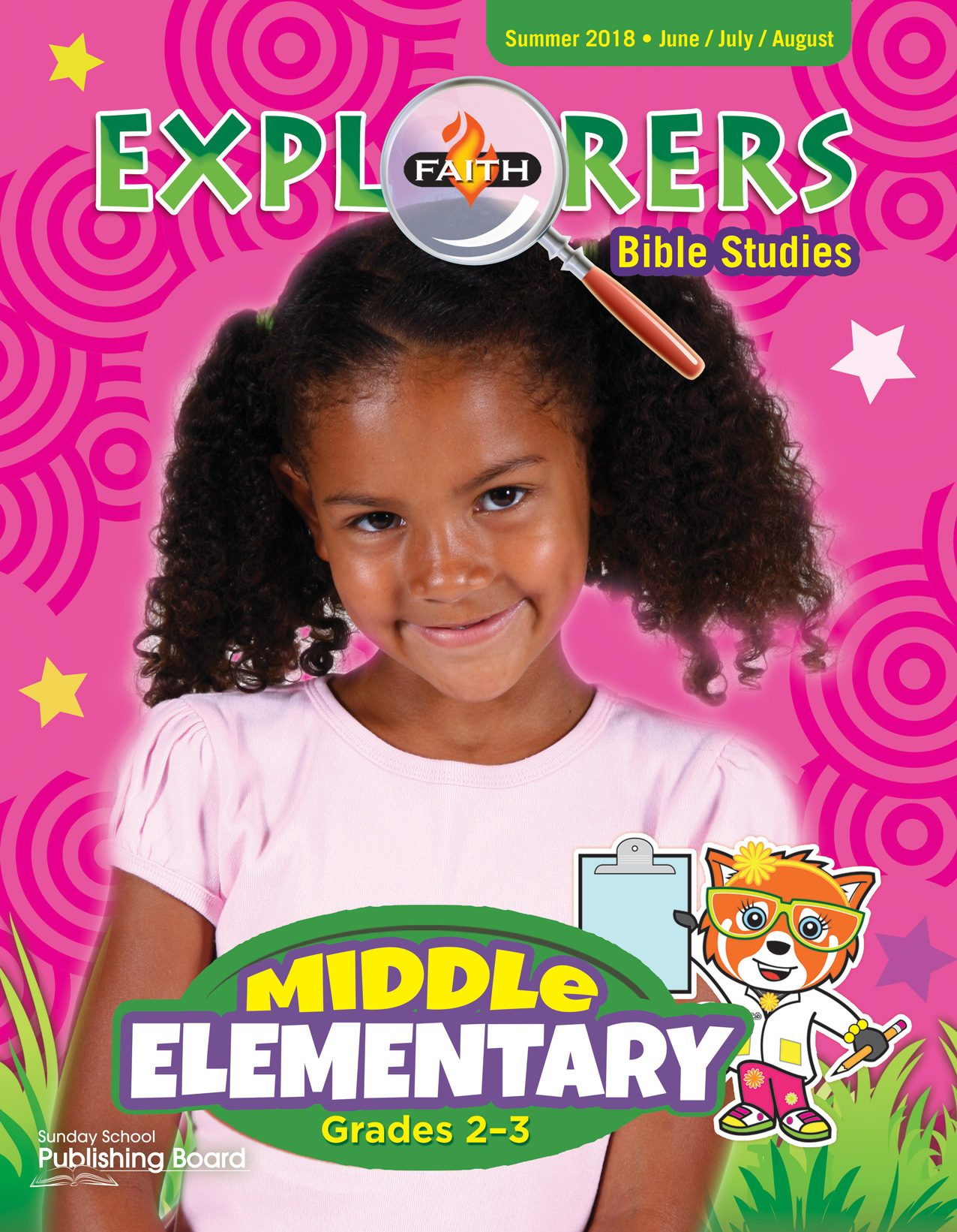 Faith Explorers Bible Studies, Middle Elementary for Grades 2-3 (Summer 2018)-Digital Edition