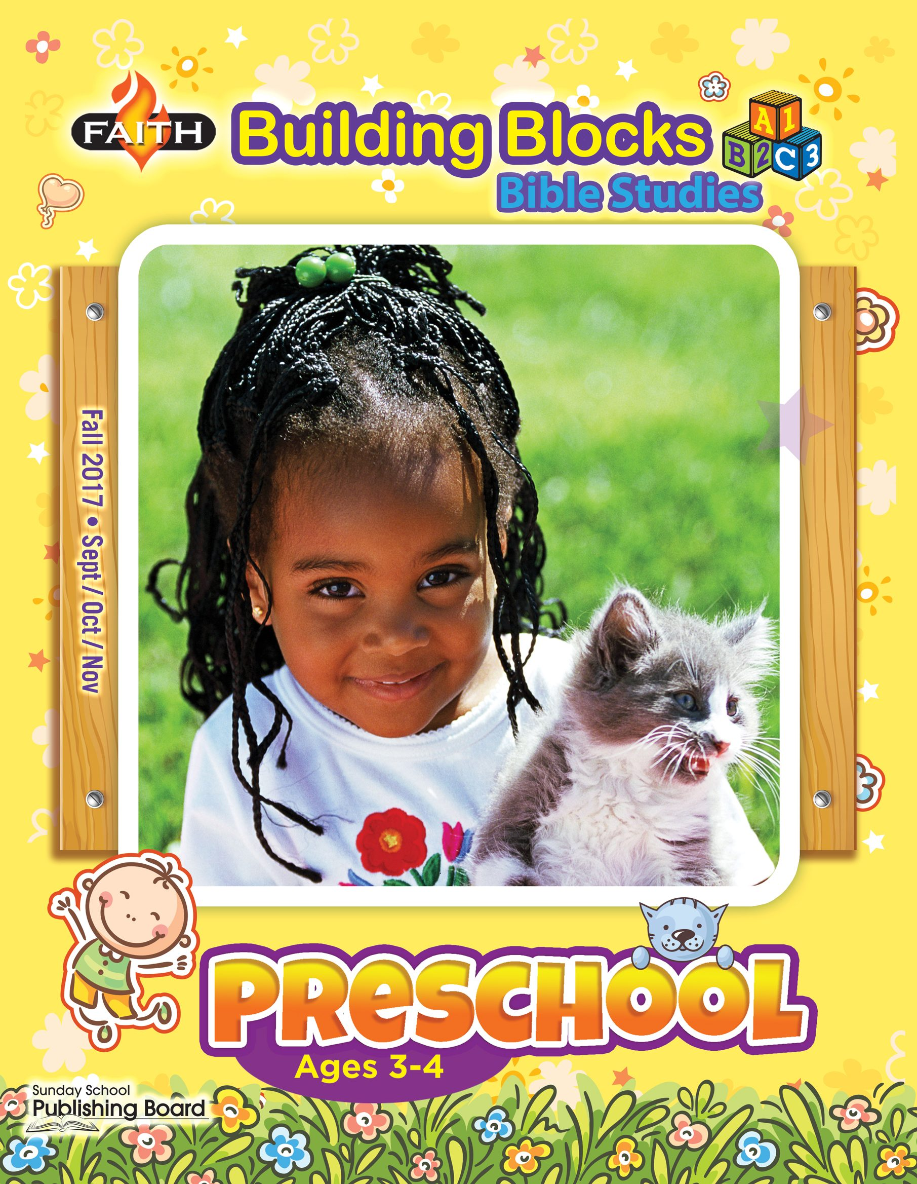 Faith Building Blocks Bible Studies, Preschool (Ages 3-4)