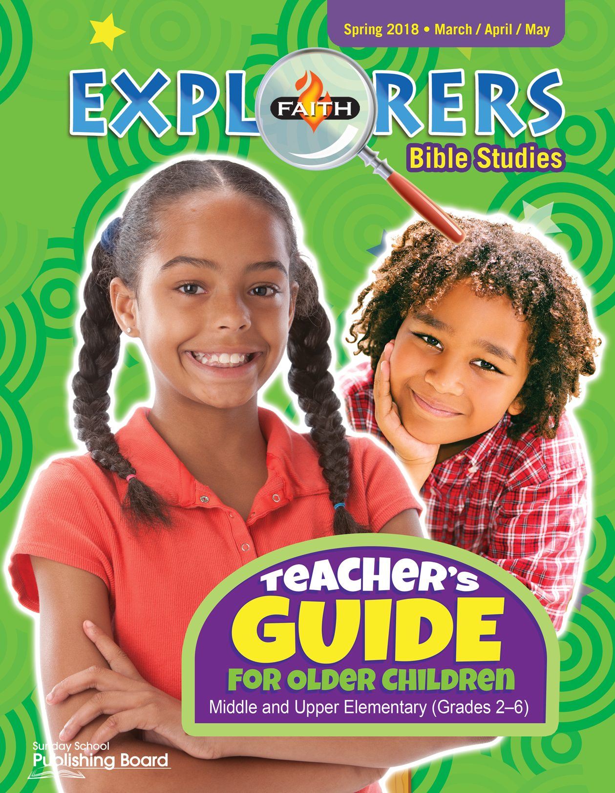 Faith Explorers Teacher's Guide for Grades 2-6 (Spring 2018)-Digital Edition