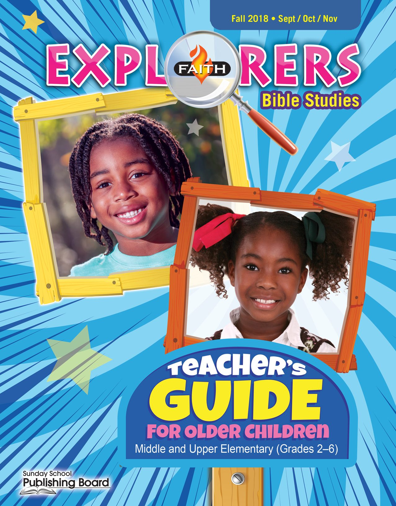 Faith Explorers Teacher's Guide for Grades 2-6 (Fall 2018)-Digital Edition
