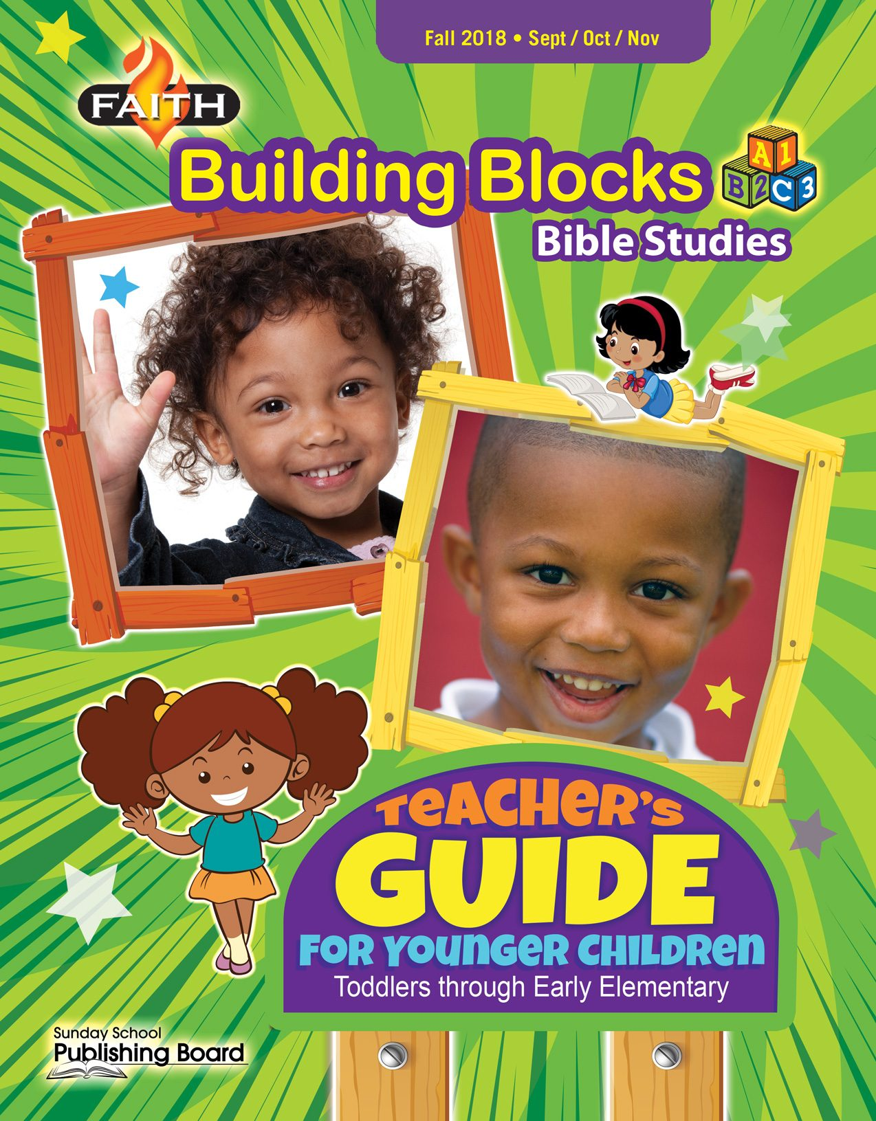Faith Building Blocks Teacher's Guide for Toddlers to Grade 1 (Fall 2018)-Digital Edition
