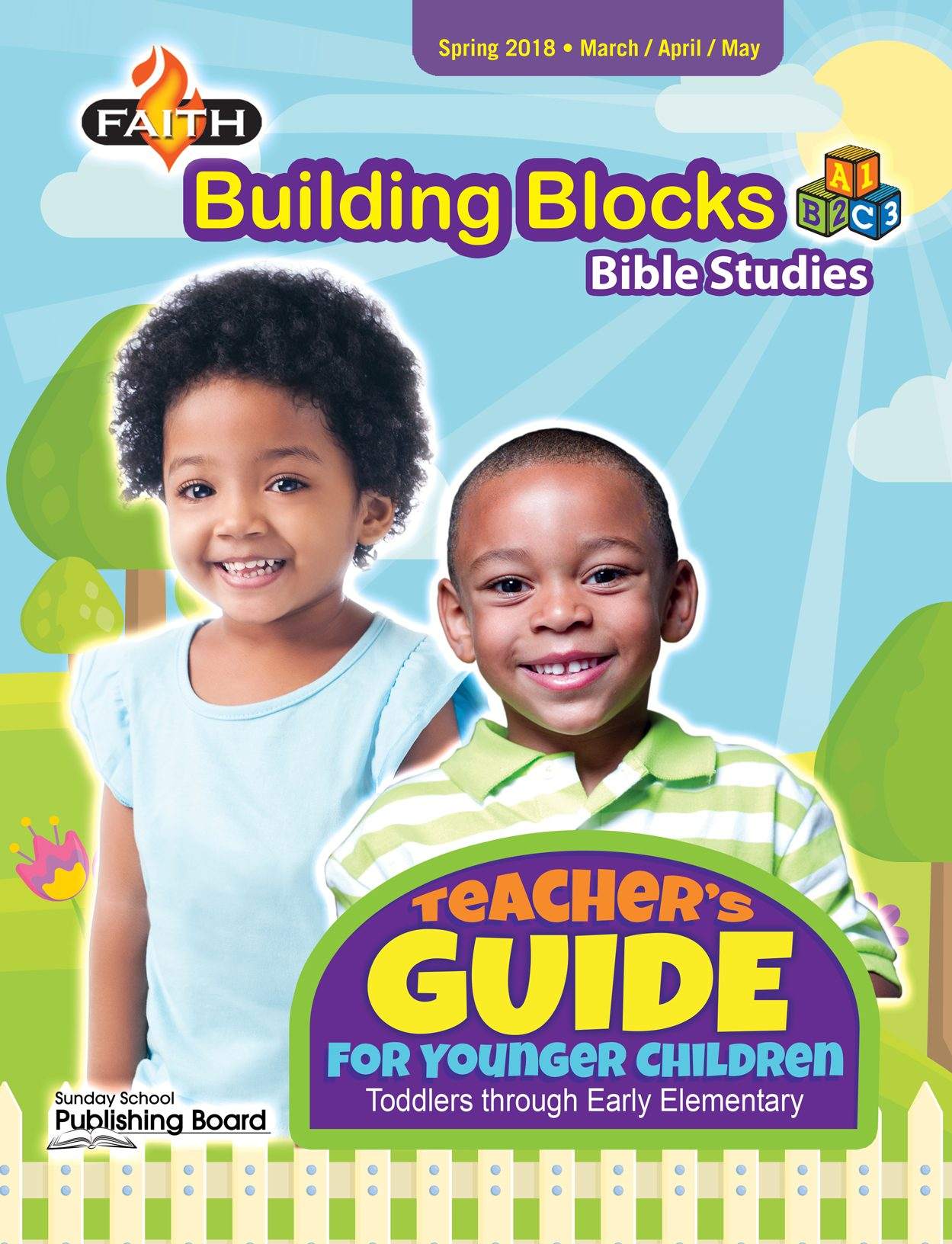 Faith Building Blocks Teacher's Guide for Toddlers to Grade 1 (Spring 2018)-Digital Edition