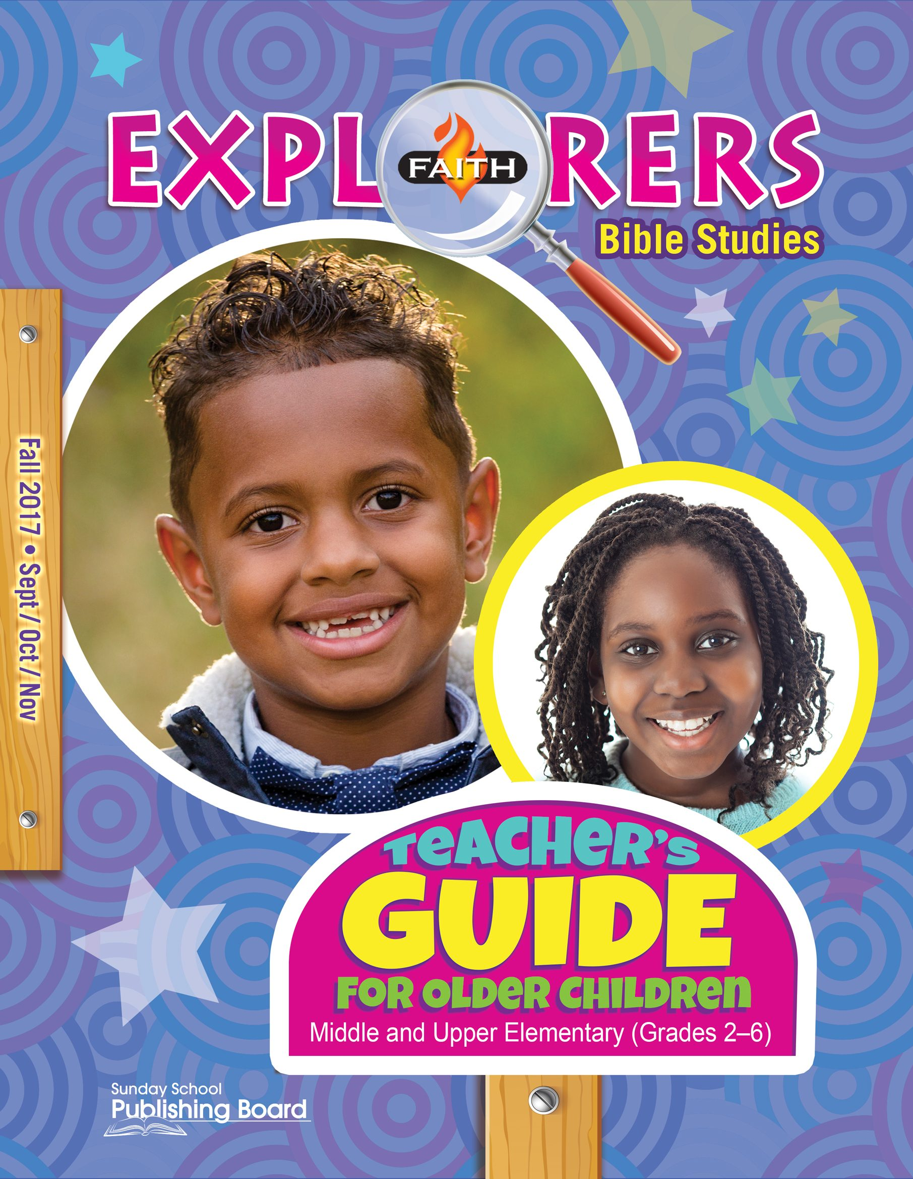 Faith Explorers Teacher's Guide for Grades 2-6 (Fall 2017)-Digital Edition