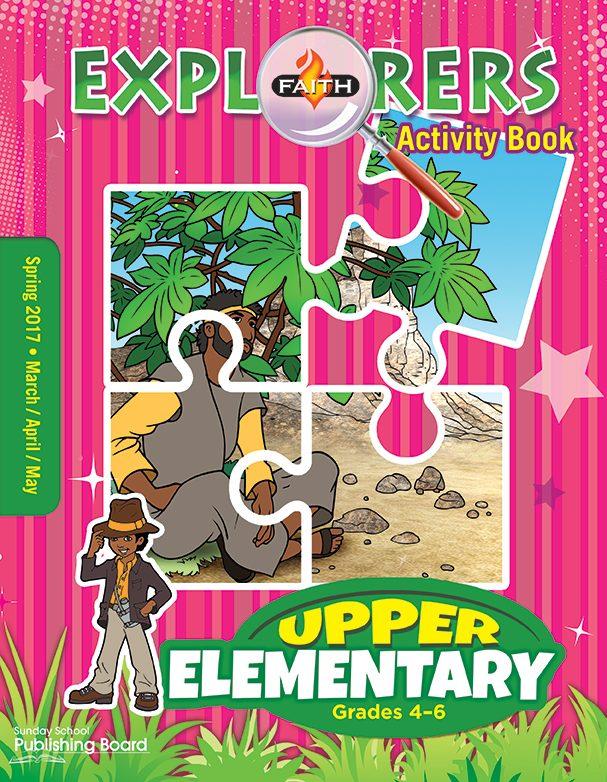 Faith Explorers Activity Book, Upper Elementary (Grades 4-6)