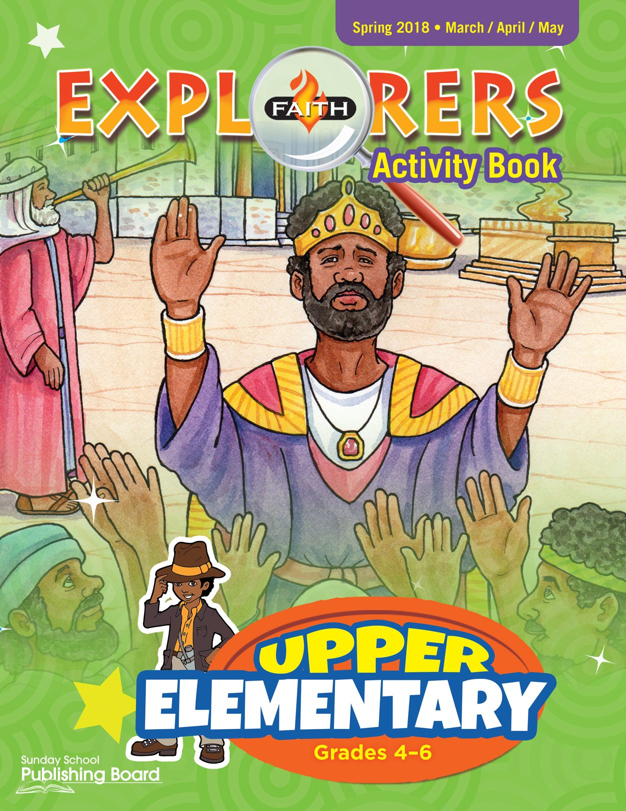 Faith Explorers Activity Book, Upper Elementary for Grades 4-6 (Spring 2018)-Digital Edition