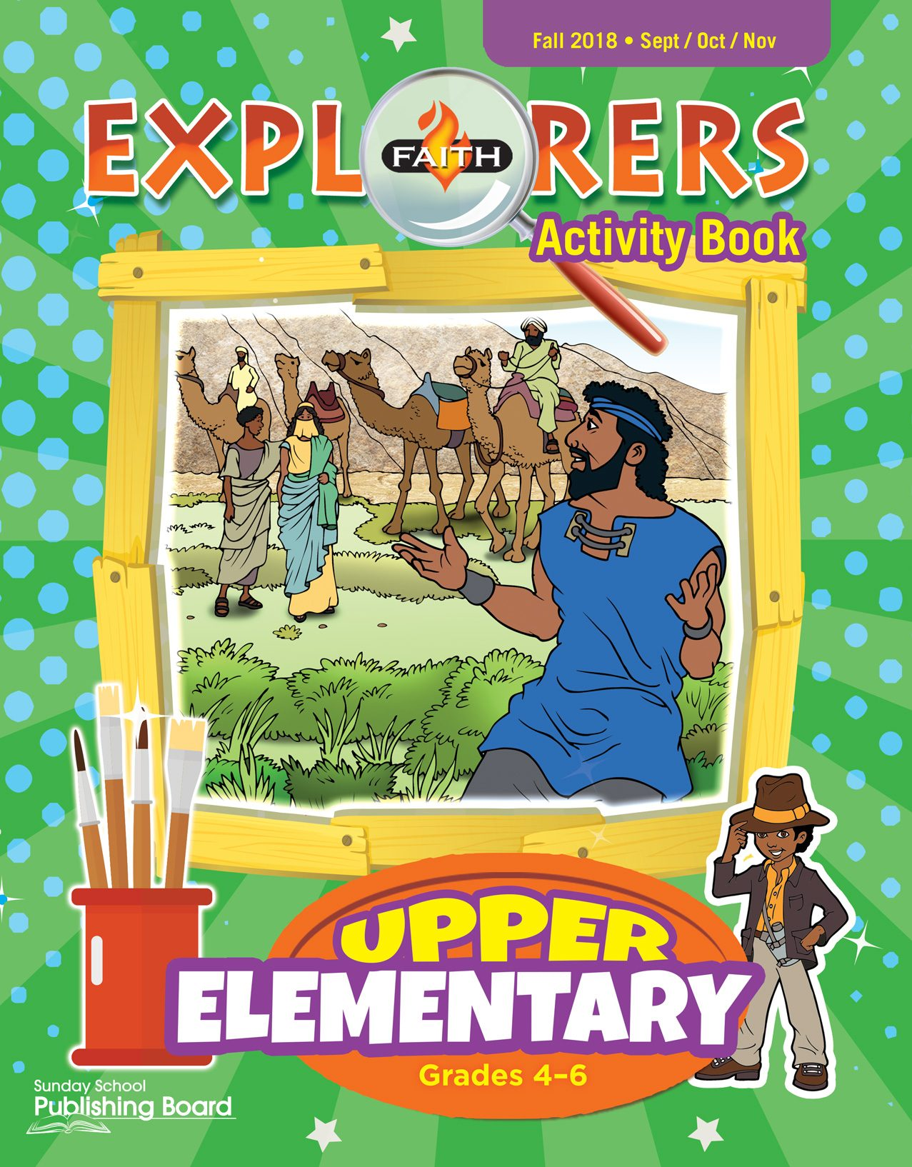 Faith Explorers Activity Book, Upper Elementary (Grades 4-6)