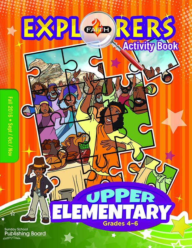 Faith Explorers Upper Elementary Activity Book (Fall 2016)–Digital Edition