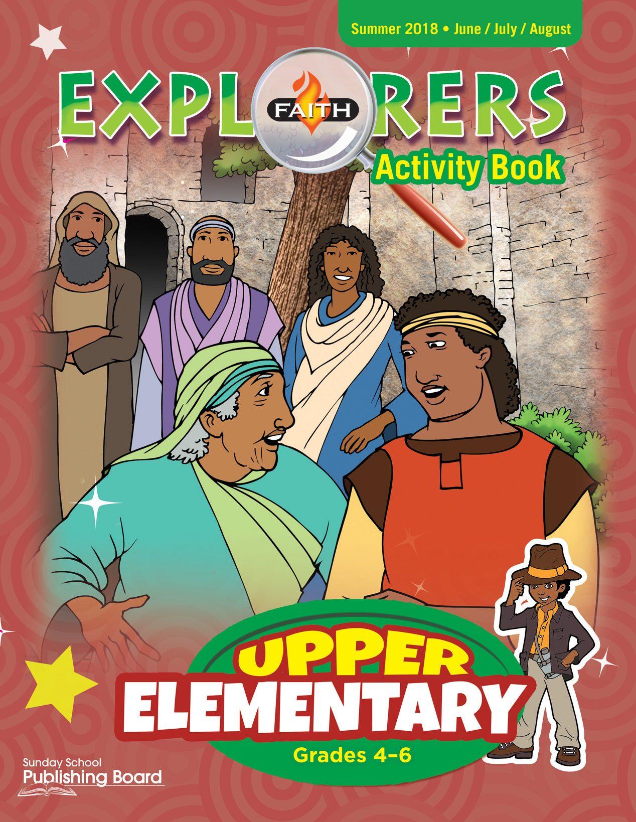 Faith Explorers Activity Book, Upper Elementary for Grades 4-6 (Summer 2018)-Digital Edition