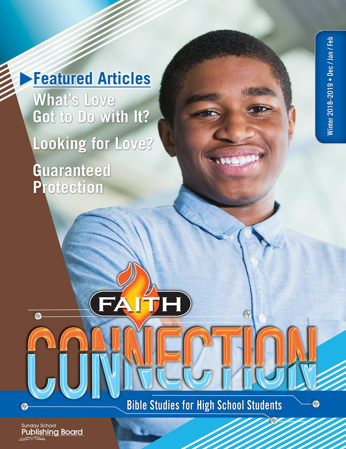 Faith Connection Bible Studies for High School Students (Winter 2018)–Digital Edition