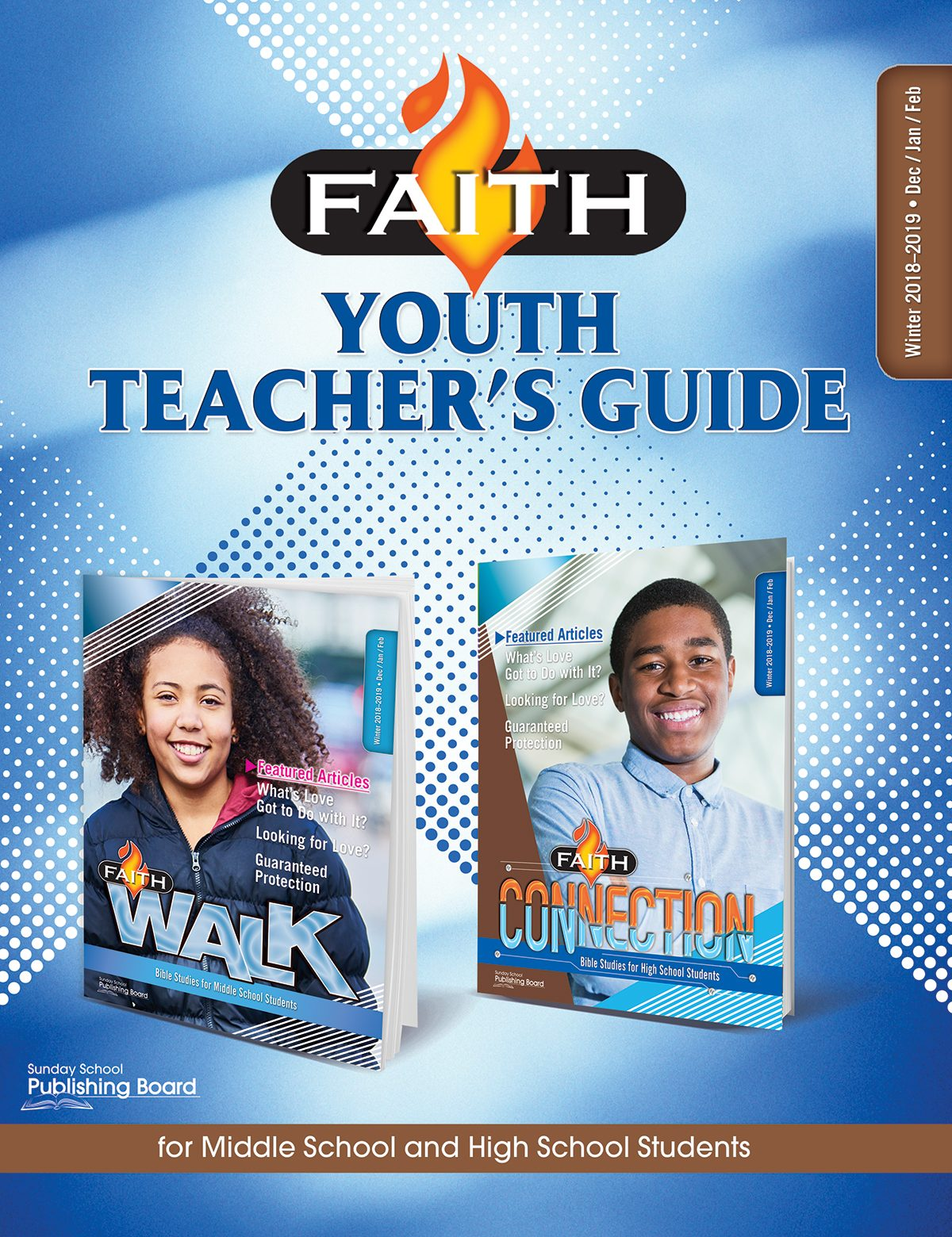 Faith Series Youth Teacher's Guide: For Middle School and High School Students (Winter 2018)–Digital Edition