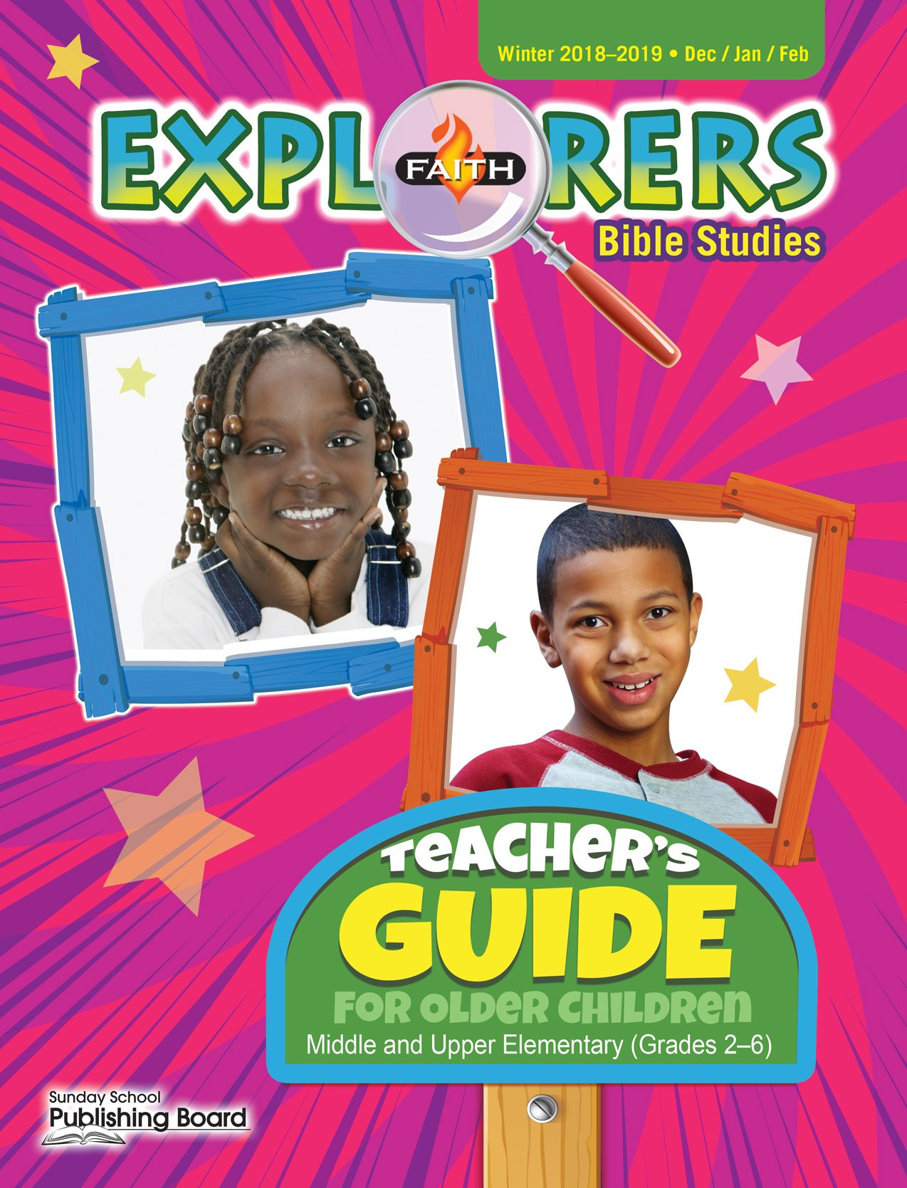 Faith Explorers Teacher's Guide for Grades 2-6 (Winter 2018)-Digital Edition