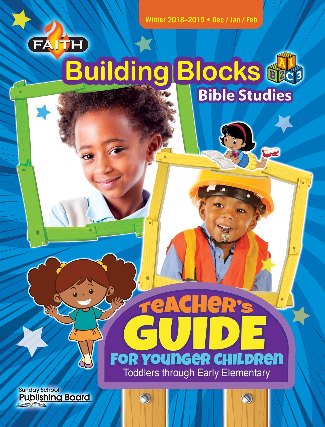 Faith Building Blocks Teacher's Guide for Toddlers to Grade 1 (Winter 2018)-Digital Edition