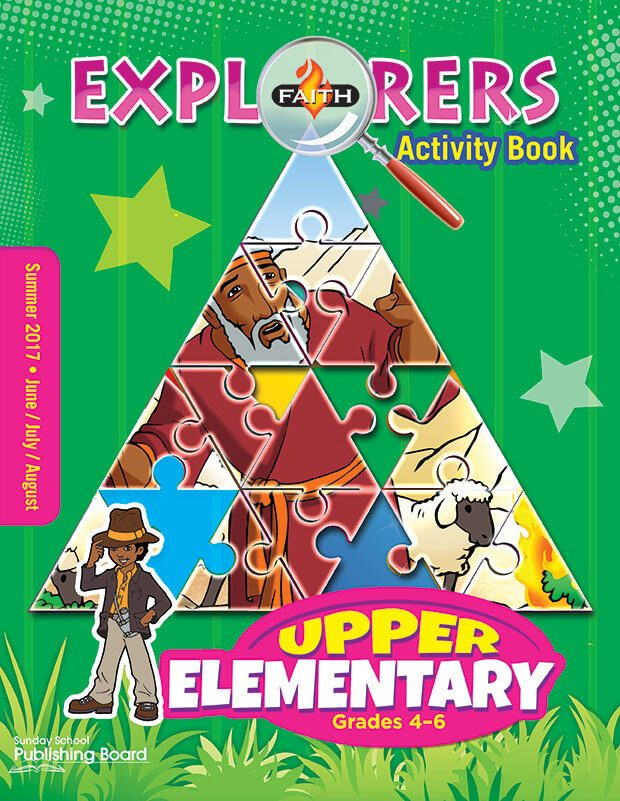 Faith Explorers Upper Elementary Activity Book (Summer 2017)–Digital Edition
