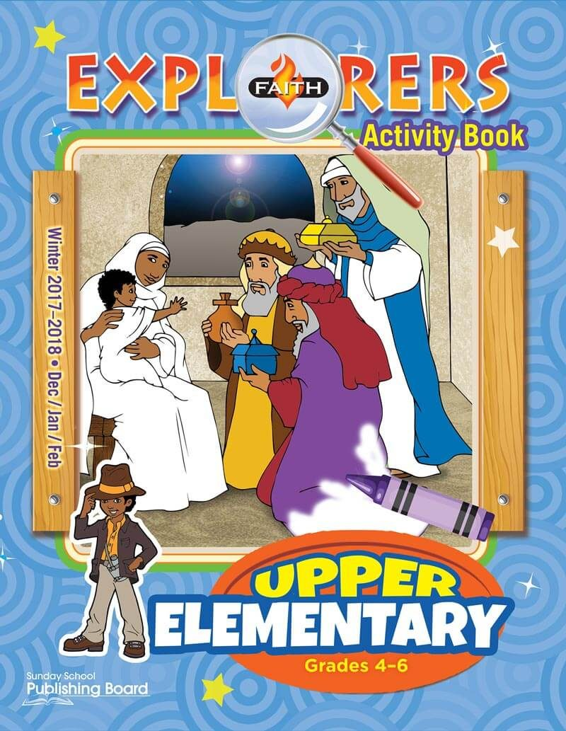 Faith Explorers Activity Book, Upper Elementary for Grades 4-6 (Winter 2017)-Digital Edition