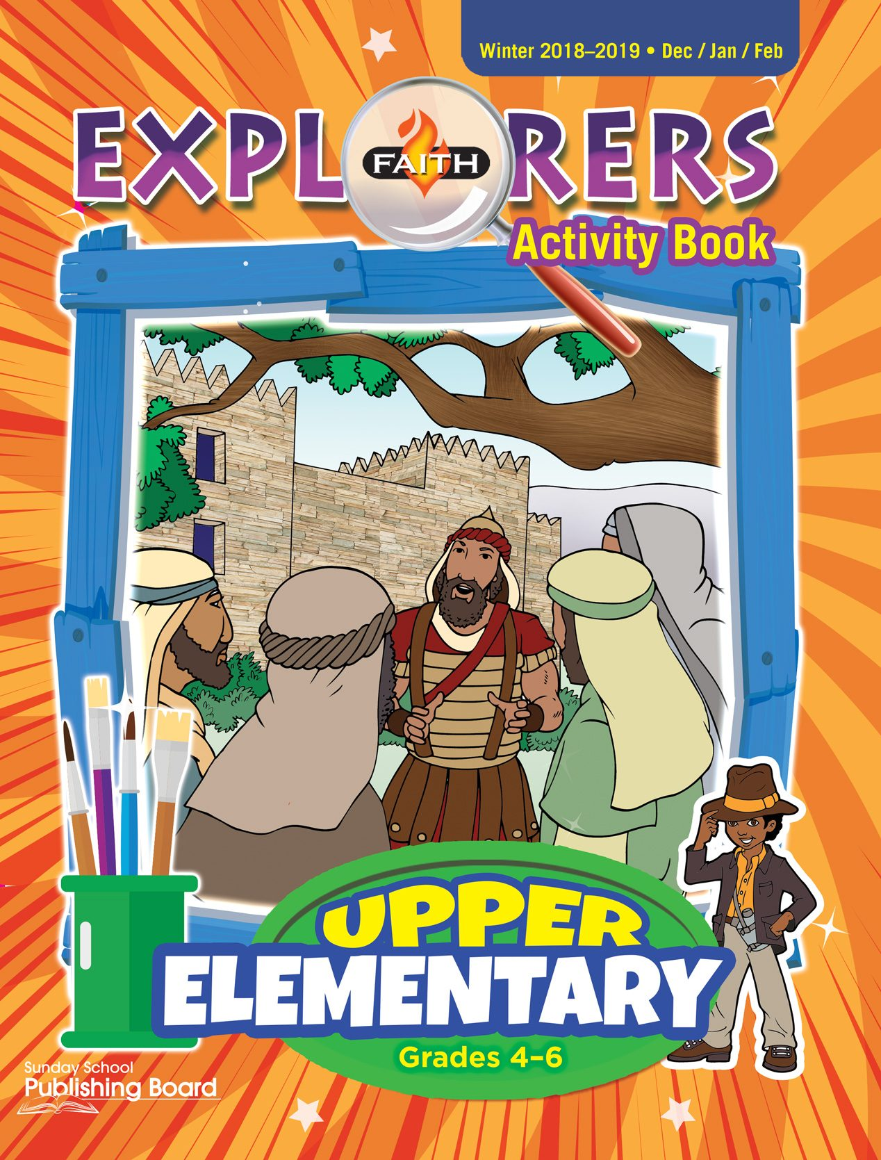Faith Explorers Activity Book, Upper Elementary for Grades 4-6 (Winter 2018)-Digital Edition