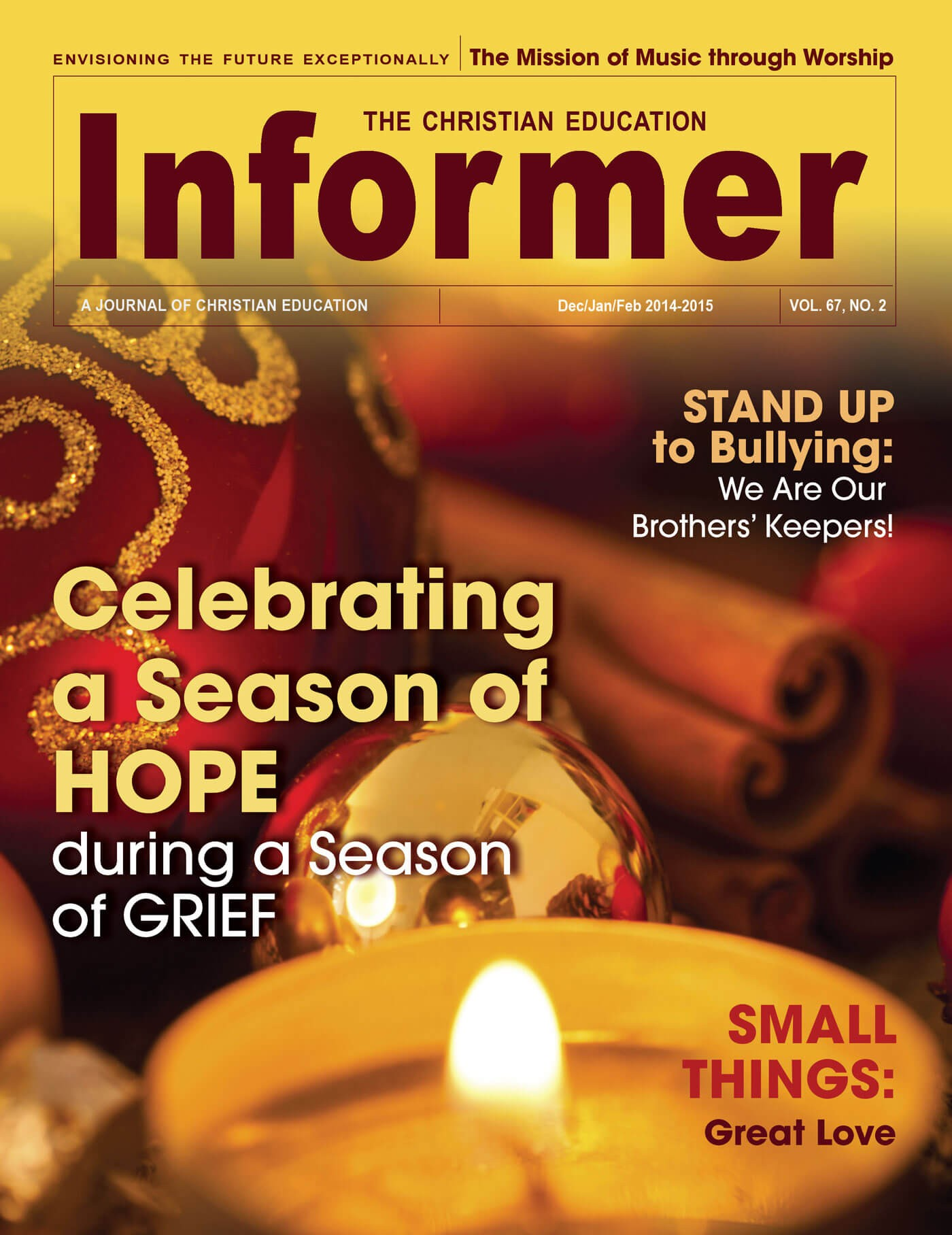 Christian Education Informer Magazine Yearly Subscription