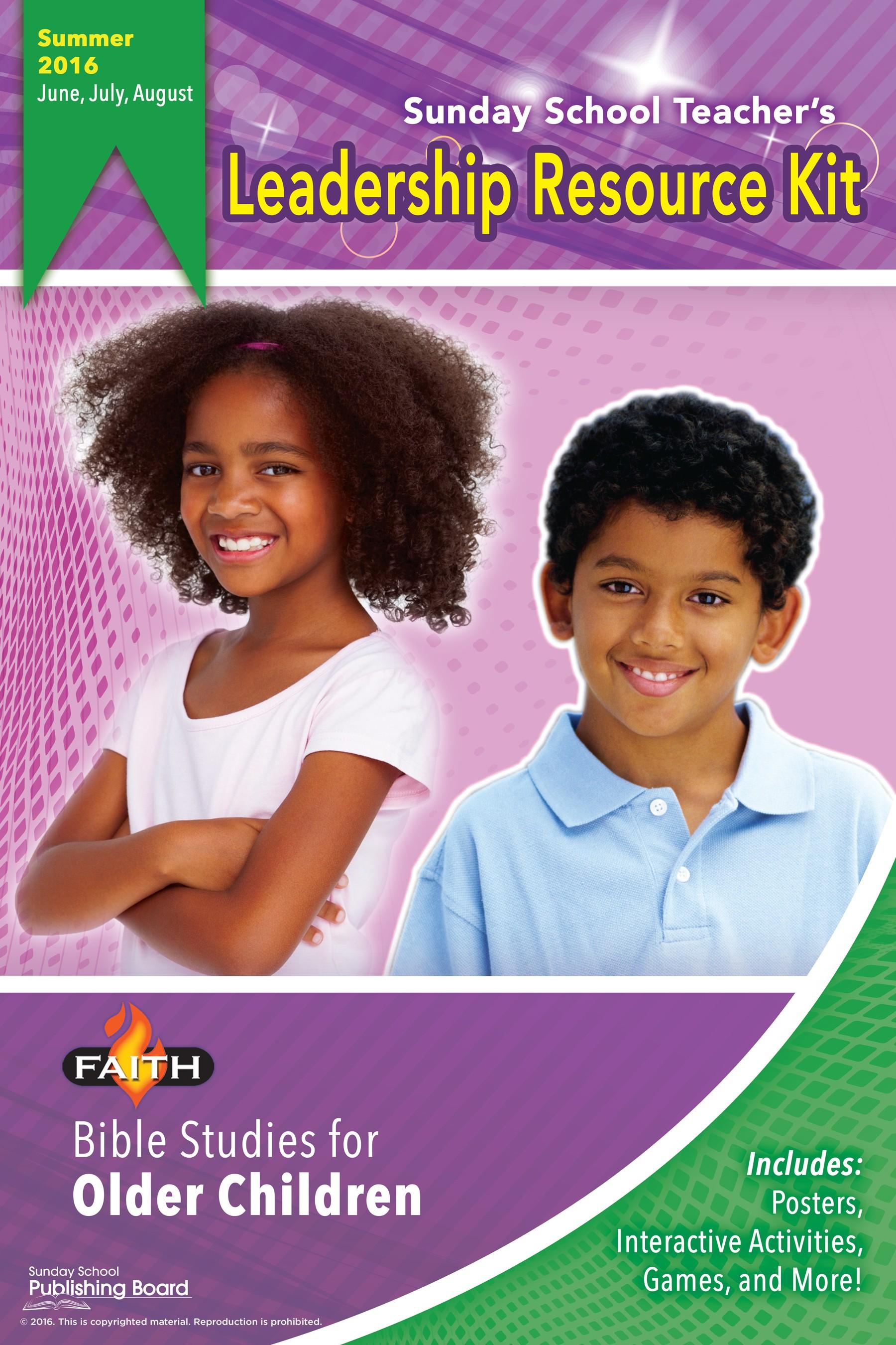 Sunday School Leadership Resource Kit - Older Children