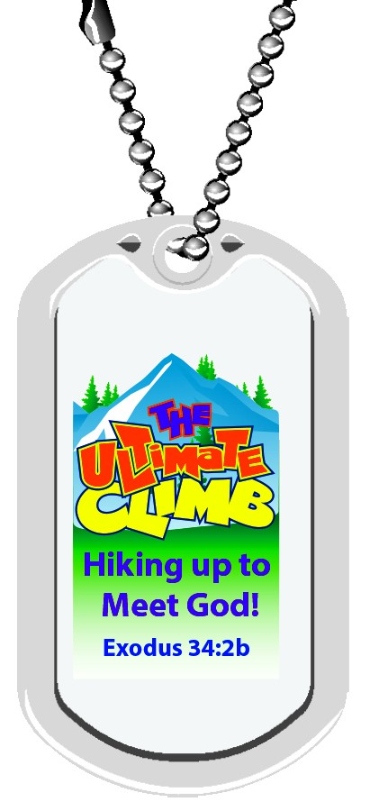 VBS Ultimate Climb! Plastic Dog Tags