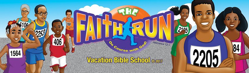 VBS The Faith Run Bookmarks
