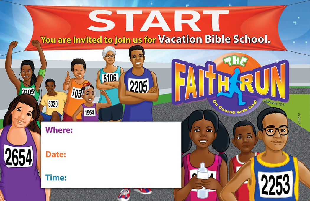 VBS The Faith Run Invitation to Attend