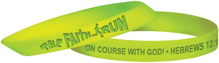 VBS The Faith Run Silicone Bracelets